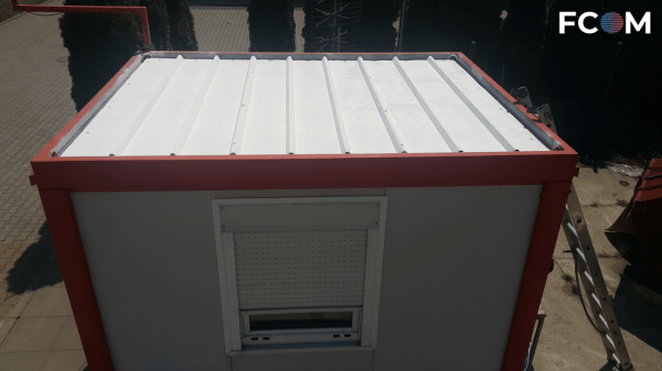 Implementation of container heating protection