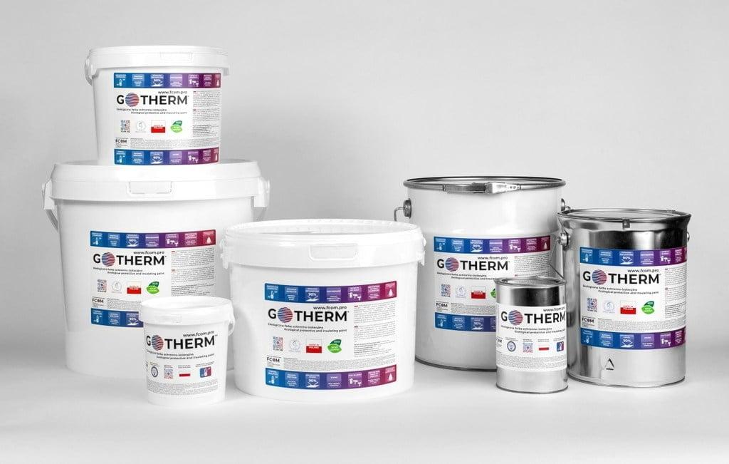 Farby termoizolacyjne GoTherm® - polski producent