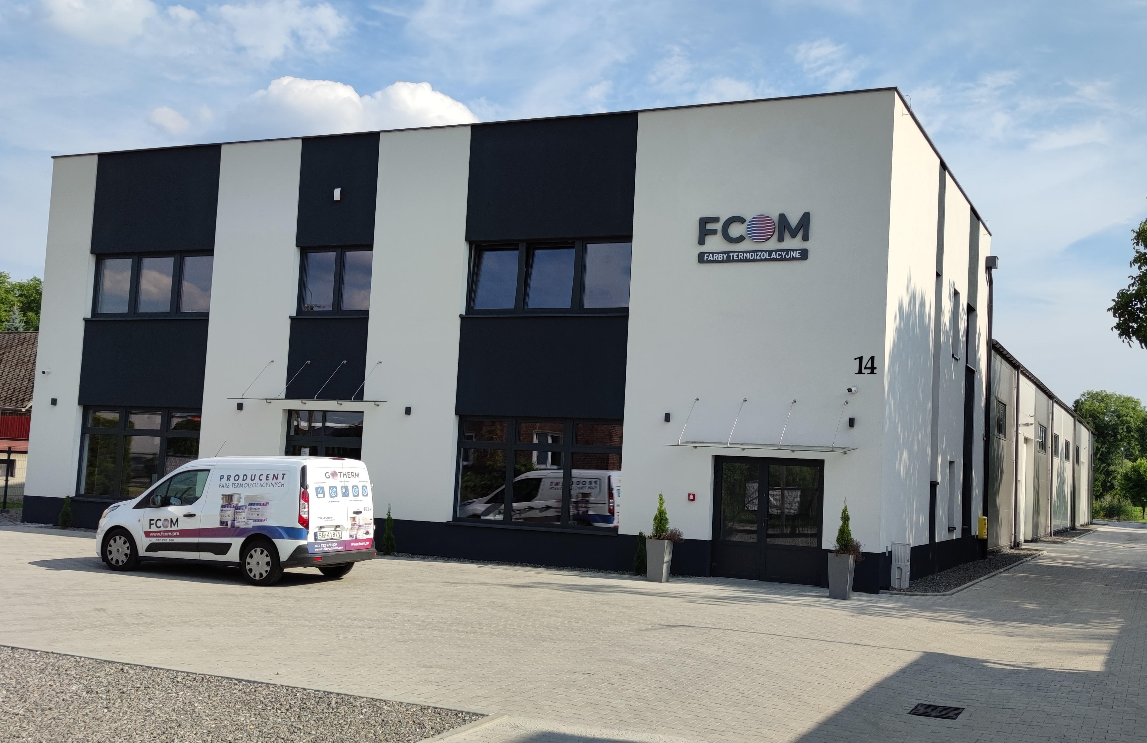 headquarters of FCOM, the producer of GoTherm